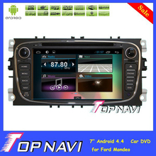 7 inch In Dash Quad Core Android 4.4 Car DVD Player for Mondeo with Wifi 3G Bluetooth GPS Free Map Radio