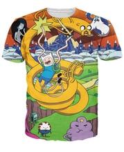 Frauen Männer Abenteuer Zeit T-Shirt Fin Jake Lumpy Raum Prinzessin die Ice King Marceline the Vampire Königin Charakter t-shirt tees