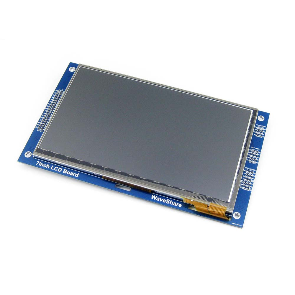 US $45 57 14% OFF|7inch Capacitive Touch LCD (C) 800*480 Pixel Multicolor  Graphic LCD, TFT I2C Touch Screen Display Module Embedded 10KB ROM-in Demo