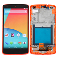 Red LCD Display For LG Google Nexus 5 D820 D821 Touch Screen with Digitizer full Assembly + Bezel Frame + Tools, Free shipping