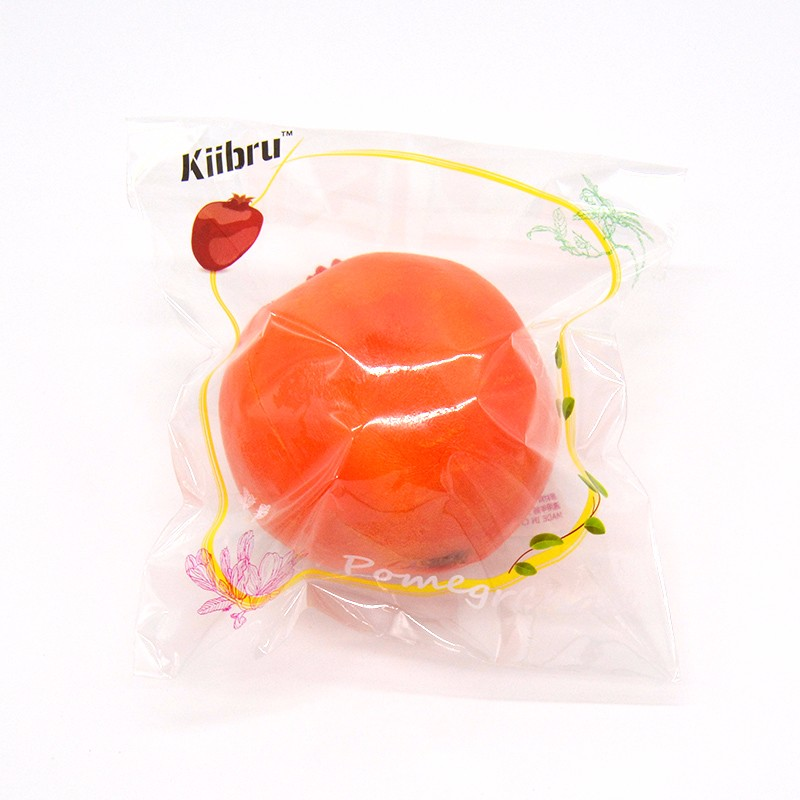 New Kiibru Squishying Toy Pomegranate Super Slow Rising Fun Novelty Toys Gift Collection With Original Packaging