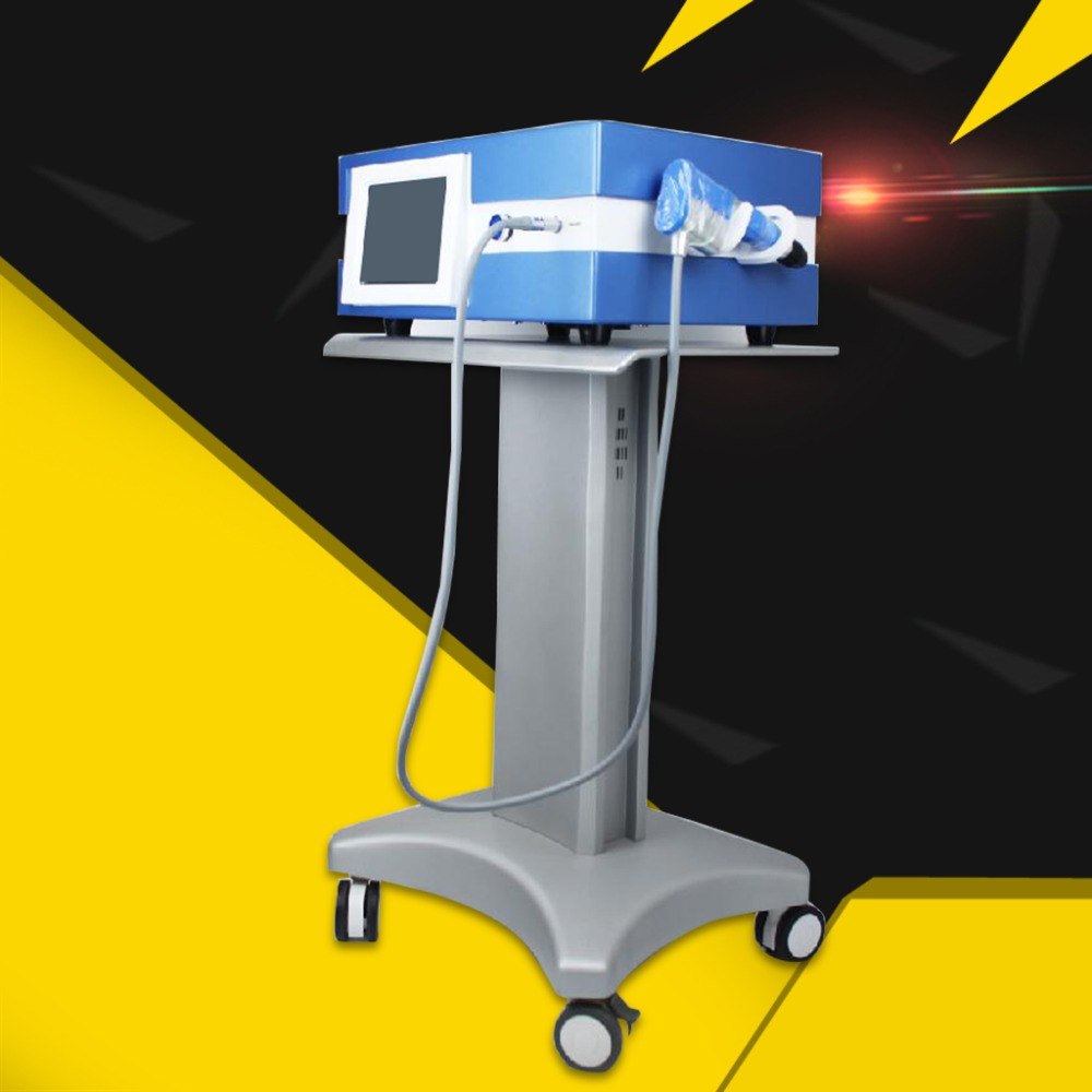 German Imported Compressor 7 Bar Unlimited Shots Shock Wave Machine/Shockwave Therapy Machine/Extracorporeal Shock Wave Therapy