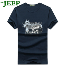 AFS JEEP t shirt Summer Fashion Men T Shirt Short Sleeve Male Tops Shirt comfortable T-shirt Casual Cotton Tees  T-Shirt 30