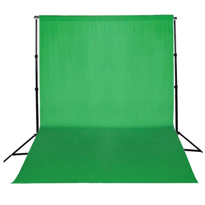 MAHA Photo chaude écran vert/noir chroma key 10x20ft/3x6 M fond toile de fond photographique