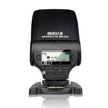 MEIKE MK 320 TTL פלאש Speedlite עבור Panasonic Lumix DMC GX85 GH5 FZ280 FZ300 G85 GH4 GH5S GF7 GM5 GH4 GM1 GX7 G6 GF6 GH3