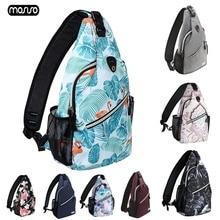 MOSISO Women Sling Backpack Men School Student Anti Theft Backbags for IPAD Waterproof Shoulder Messenger Chest Bag Travel Bags