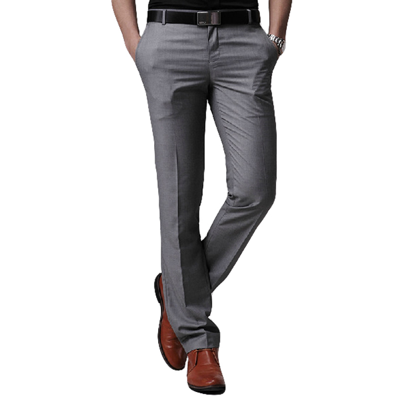 Popular Grey Suit Pants-Buy Cheap Grey Suit Pants Lots From China Grey Suit Pants Suppliers On ...