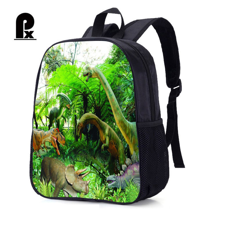 11f0e176e4 Children Student Schoolbag Jurassic Park Dinosaurs Backpack Cartoon Schoolbags  Kid Backpacks For Boys And Girls Mochila Infantil
