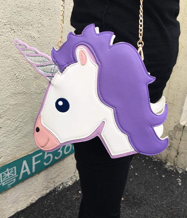 HTB1M.igRXXXXXXSaFXXq6xXFXXXt - Unicorn Handbag women Shoulder Bag Cute