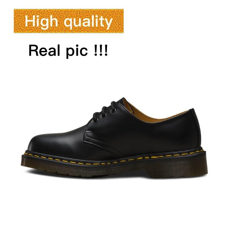 OLPAY Dr martens 1641 men shoes Genuine Leather designer shoes luxury shoes luxury brand formal dress