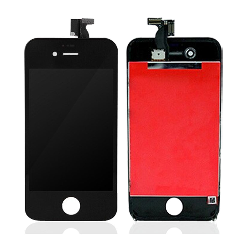 A Quality Front Screen LCD For Apple iPhone 4S LCD Display Touch Screen Digitizer Assembly Frame