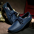 2015Autumn boat shoes men genuine leather fashion oxfords casual drivers shoes men flats shoes men loafers 3colors free shipping