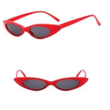 Vintage Women Triangle Small Sunglasses Cat eye Brand Designer Retro Sunglass Female UV400 Sun glasses Travel Accessories