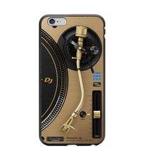 Vinyl record phone case for iPhone X 8 5 5S SE 6 6SPlus 7 7Plus