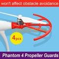 Quick-release Propeller Guardas Protetores de Blindagem Anéis Bumper 9450 S Guardas Hélice para DJI Fantasma 4/PRO/PRO +