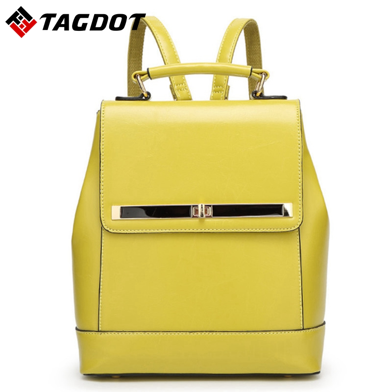 High Quality PU leather Women Backpacks Bullet Lock Ladies Bags Backpack Vintage School Backpack For Girls Brand Designer Bags high quality women leather backpacks vintage backpack women school bags 2015 new arrival bags design wholesale backpacks bb28