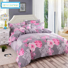 BEST.WENSD wholesale big jacquard bed cover set bedclothes full queen super king comforter bedding duvet cover with zipper