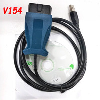 Best Quality Professional V154 JLR SDD PRO Diagnostic Cable for Jaguar for Land Rover Support till 2014 Cars free shipping