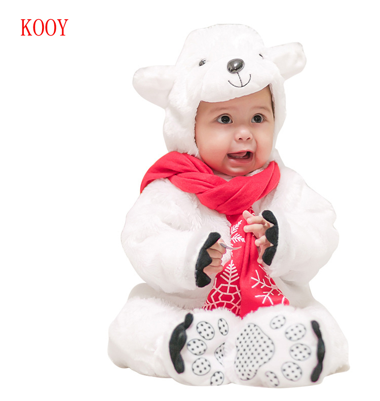 Purim Costumes Winter Baby Clothes Breathable Jumpsuit Baby Animal Costume Hooded Rompers New