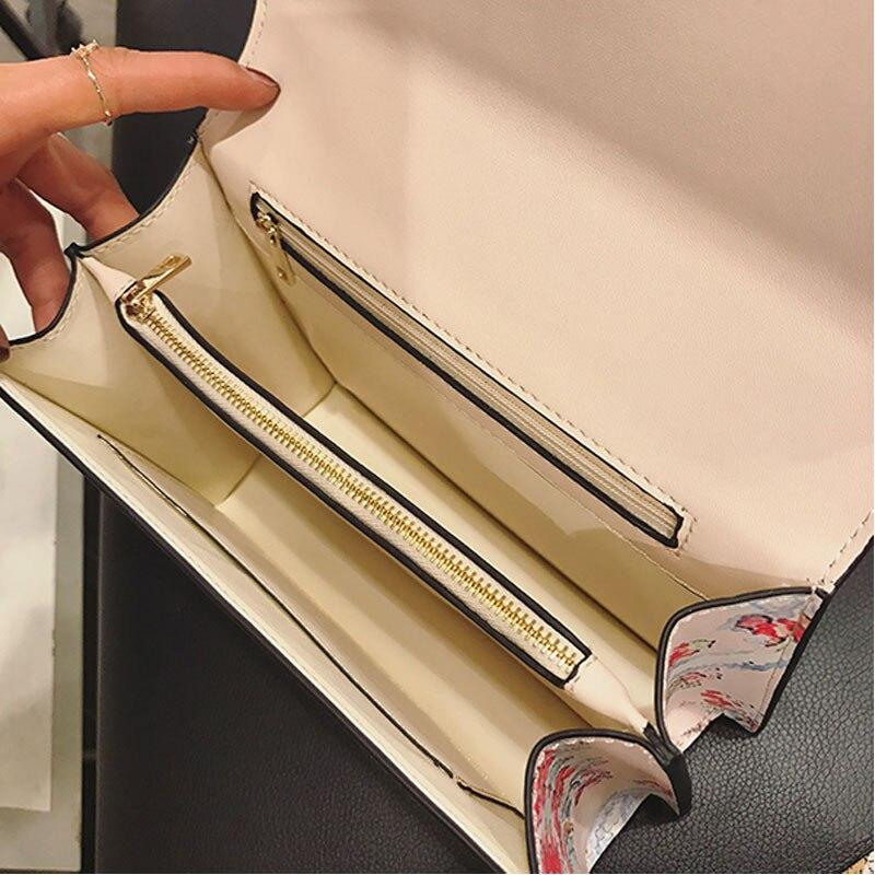 senhoras sacolas de pequeno rebite Size : Comprimento:24cm, altura:16cm, Width:6cm