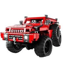 تكنيك سلسلة MOC 4731 مارودر على الطرق الوعرة سيارة نموذج سيارة اللبنات التعليمية الطوب متوافق Lepining 23007 اللعب