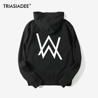 TRIASIADE Mens Hoodies Moletom Sweatshirts DJ Alan Walker Hoodie Fashion Hooded Sudadera Hombre