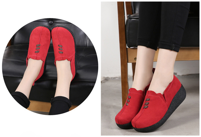 LL 3022-2019 Spring Autumn Women Wedge Shoes-11