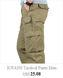 2019 Fleece Warm Winter Cargo Pants Men Casual Loose Multi-pocket Men's Clothes Military Army Green Khaki Pants 237