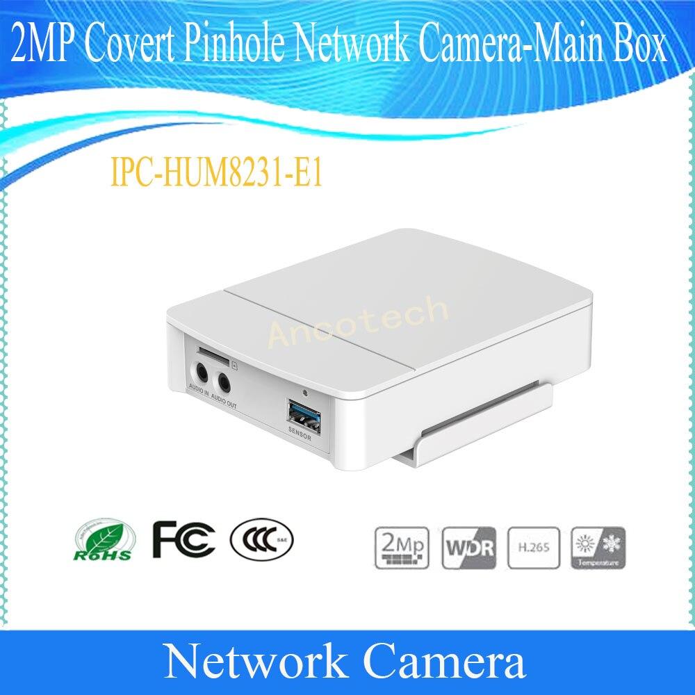 Dahua Free Shipping NEW Product CCTV 2MP Covert Network Camera Main Box without logo IPC-HUM8231-E1