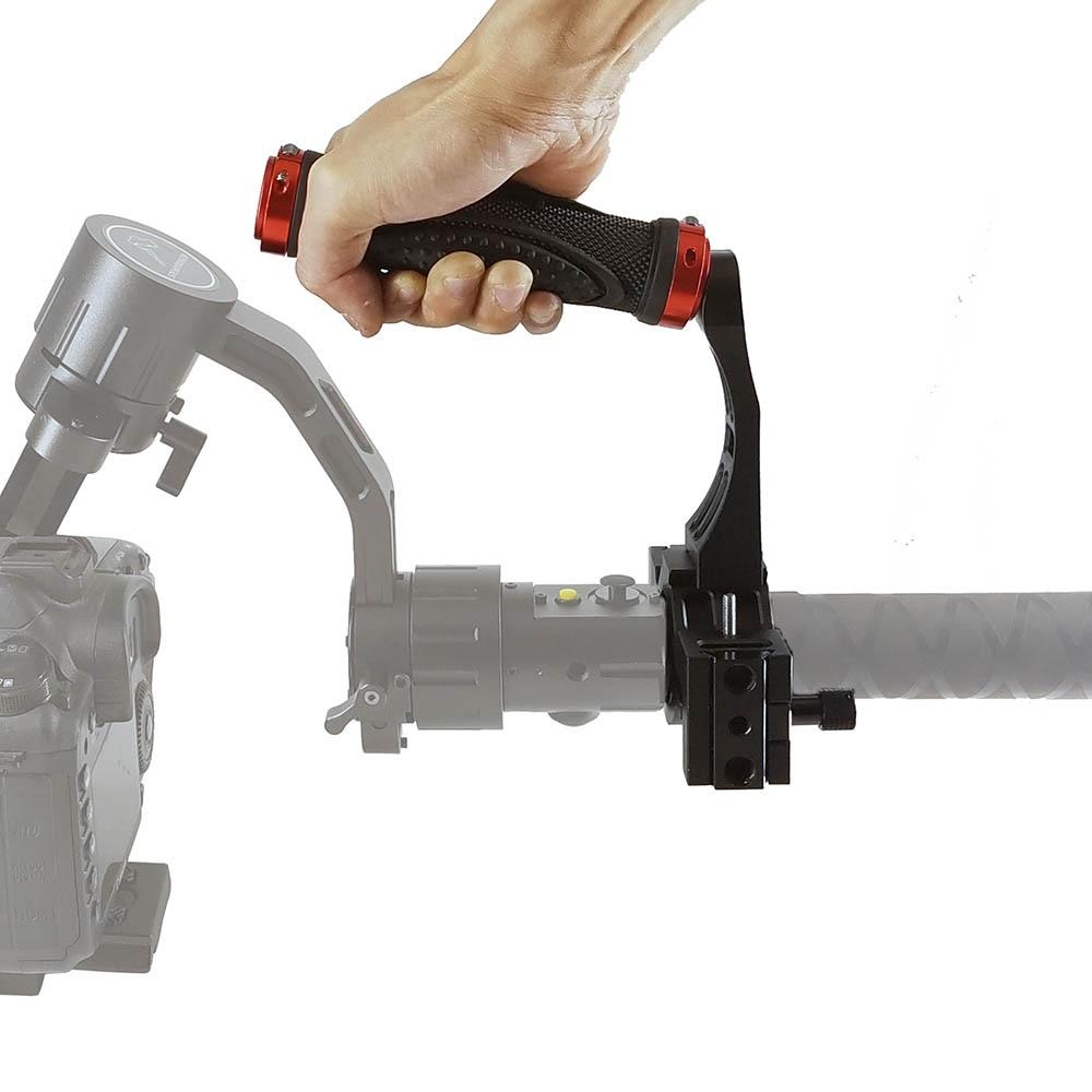 Gimbal Handle Accessories Video Grip Mounting Extension Arm Holder Handgrip For Zhiyun Crane 2 DJI Ronin S Moza Feiyu Stabilizer
