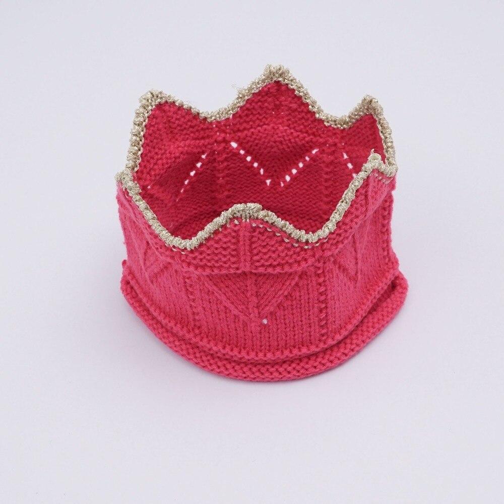 Baby Mädchen Hut Infant Stirnband Crown Baby Junge Hut Stricken