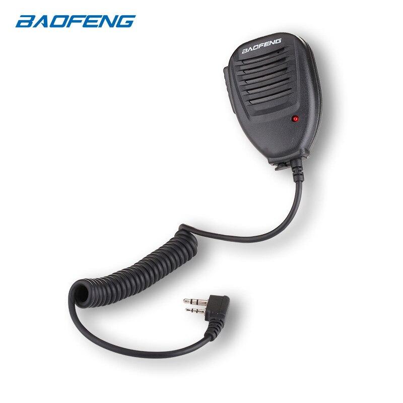 Baofeng PTT Speaker Mic para UV-5R BF-888S UV-82 UV-9R Rádio New Handheld UM Plus
