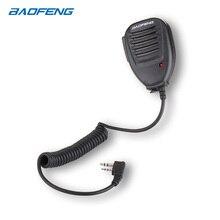 Baofeng PTT hoparlör Mic için UV 5R UV 9R radyo yeni el bir artı