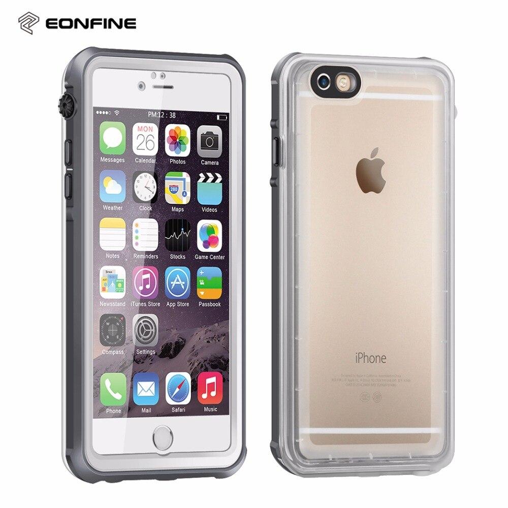 bilder für Dünne Klare Wasserdichtes Gehäuse Für iPhone 6 6 s Unterwasser Schwimmen tauchen 360 Volle Schutzfall Für iPhone 6 s 6 Touch abdeckung