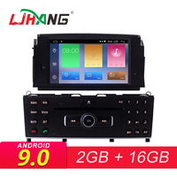 LJHANG 1 Din Android 9.0 Car DVD Multimedia Player For Mercedes Benz C200 C180 W204 2007 2008 2009 2010 GPS WIFI Car Stereo IPS