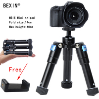 Lightweight Tripod Mini Cell Phone Camera Tripod Stand Bracket Mount Adapter For Camera Self Timer Free Phone Clip