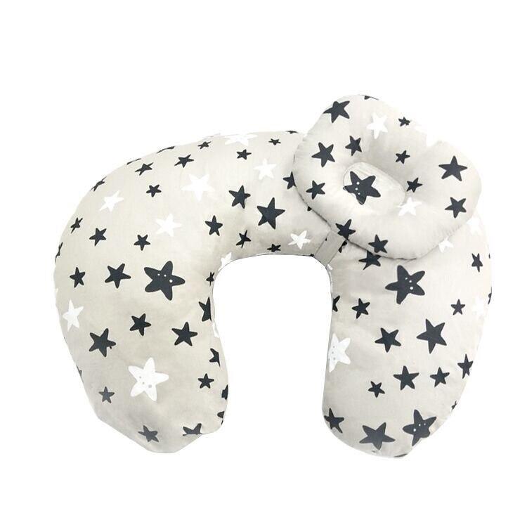 Подушка для кормления грудью многофункциональная детская подушка для кормления материнская поясная подушка u-образная Подушка для кормления ребенка - Цвет: huidixingxing