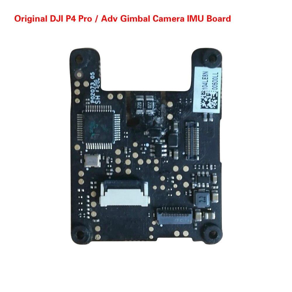 D'origine DJI Phantom 4 Professionnel/Avance Cardan Caméra IMU Conseil Pour P4P/Un Drone De Réparation Pièces Accessoires (utilisé)