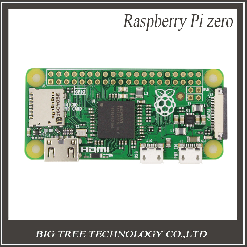 ФОТО New Mini Raspberry Pi Zero Board Camera Version 1.3 with 1GHz CPU 512MB RAM Linux OS 1080P HD video output RP0014