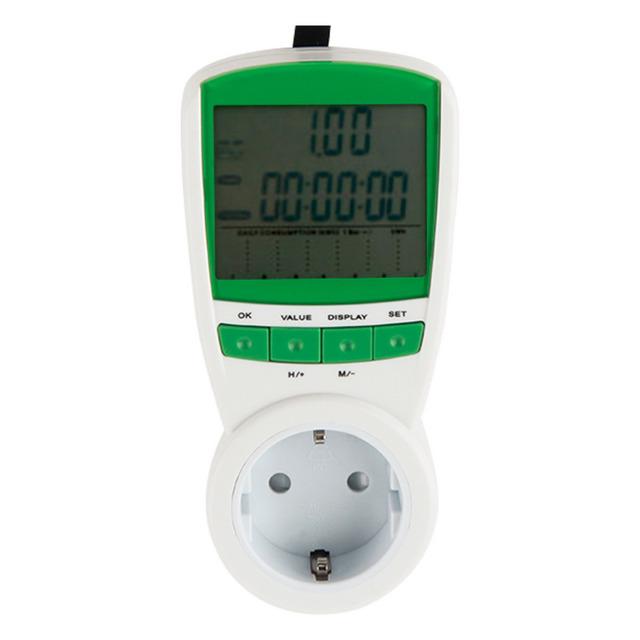 Frequency Monitor Analyzer 230V 50Hz energy monitor volt amp watt meter medidor de energia1pc Energy Power Meter Watt Volt Amp