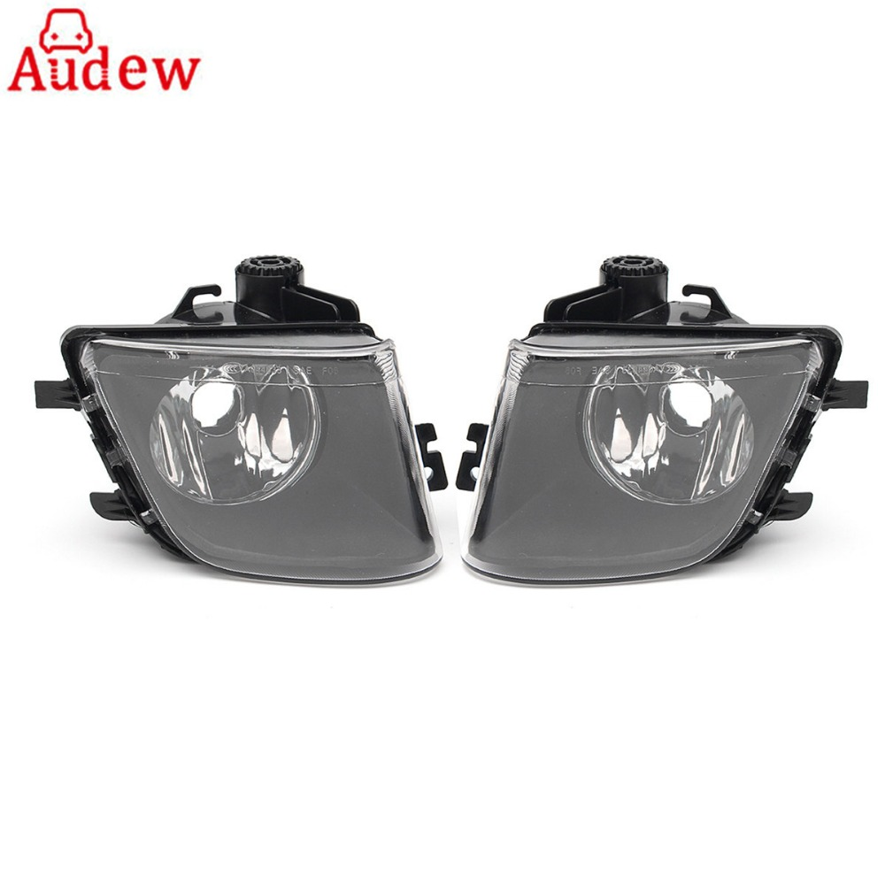 2Pcs Car Fog Lamp Driving Light Clear Lens Left&Right For BMW F01 F02 740i 740Li 750i 2009-2013 1 pcs left right fog lamp with bulbs front bumper driving fog light for suzuki alto 2009 2017