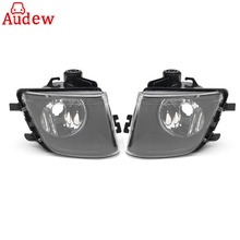 2 шт. автомобилей Туман дальнего света прозрачные линзы левый и правый для BMW F01 F02 740i 740Li 750I 2009 -2013