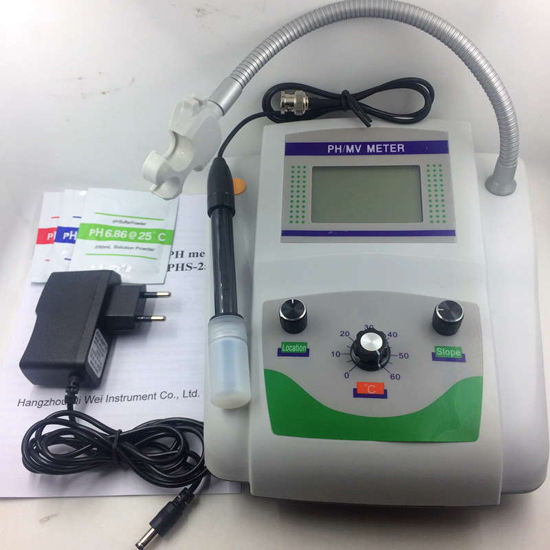 Digital pH Meter Detetor tester monitor aquarium aquario laboratory medidor de ph water quality tester 0.00~14.00pH Accuracy0.05