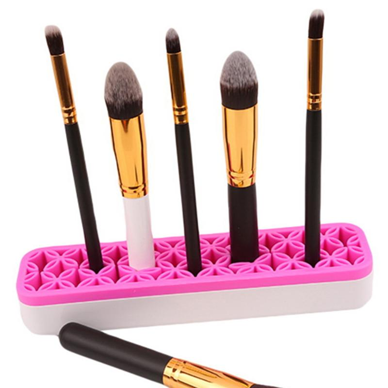 1Pc Cosmetic Brush Holder Jewelry Casket Perfume Lipstick Storage Plastic Desktop Decoration Acrylic Container Organizer