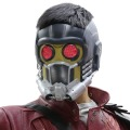 Xcoser cosplay máscara con gafas resplandor guardianes del galaxy star lord casco pvc traje de halloween para adultos new version