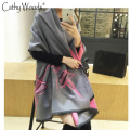 Luxury Brand Scarf Women 2016 Winter Faux Cashmere Scarf Soft Double Sided Dancing Girl Scarf Women Echarpes Foulards Cachecol