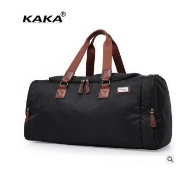 Marca KAKA Hombres Bolsas de Viaje bolsas de equipaje de Mano de Los Hombres de Negocios Oxford Duffle del Recorrido Impermeable Superme Calidad de Asas Del Viaje de Los Hombres