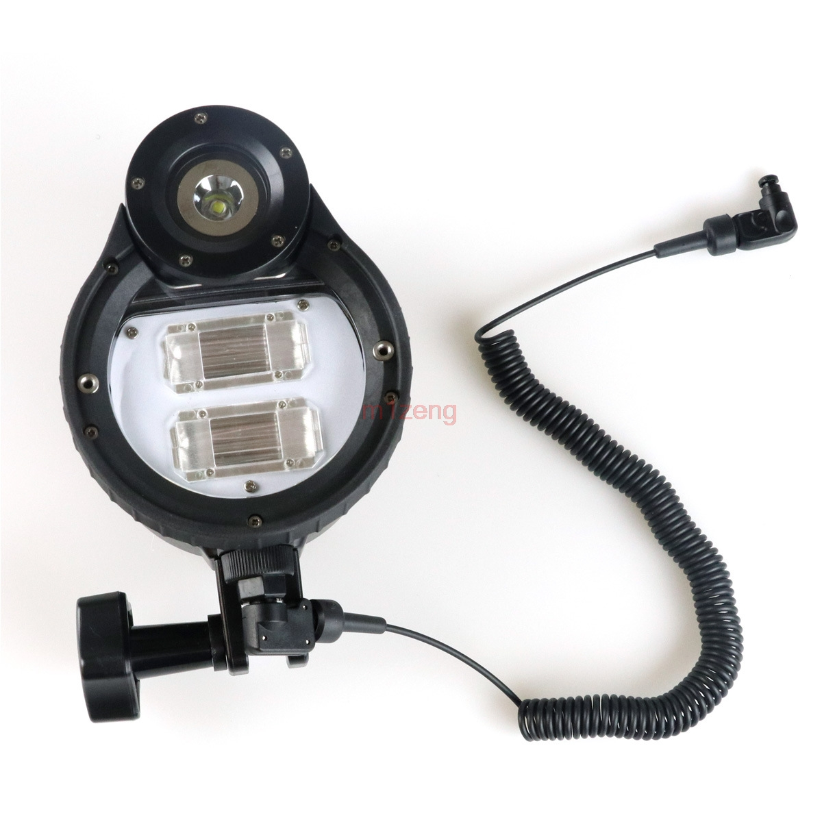 ST100 Flash Strobe underwater waterproof Light lamp For camera Housings Diving Case bag braun st100