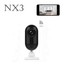 NX3 Wifi IP Mini Camera 720P HD IR Night Vision Small Camera Wireless APP Control Surveillance Cam Two-way Voice Tntercom Camera