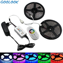 LED Strip Light RGB SMD Led 5050 RGB LED Light Waterproof Tape Emitting Diode Tape Ribbon